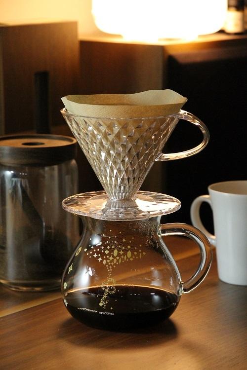 キーコーヒー クリスタルドリッパー ドリップコーヒー