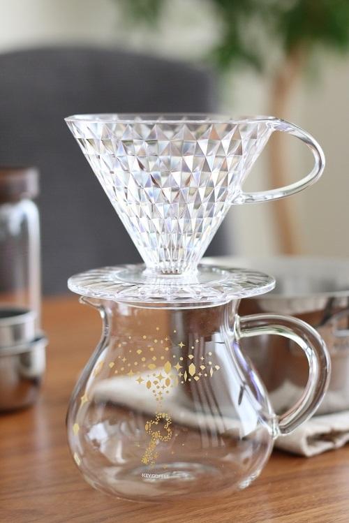 KEY COFFEE キーコーヒー クリスタルドリッパー
