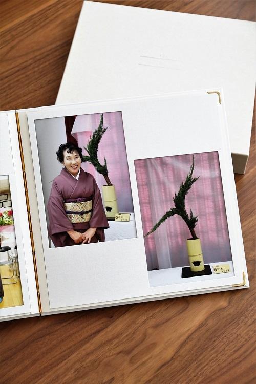 竹野 アルバム 写真 台紙 ヒンジアルバム